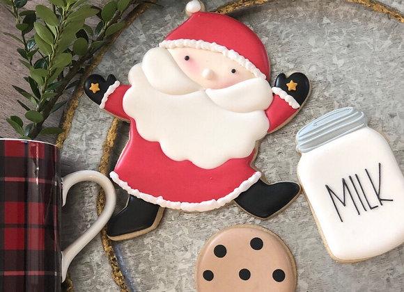 Santa, Milk and Cookies Boxed Set