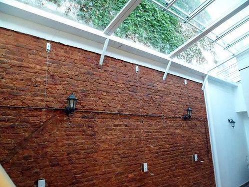 techo corredizo cerramiento policarbonato