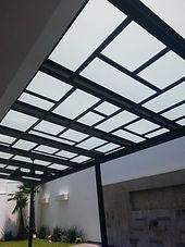 cerramiento techo de policarbonato