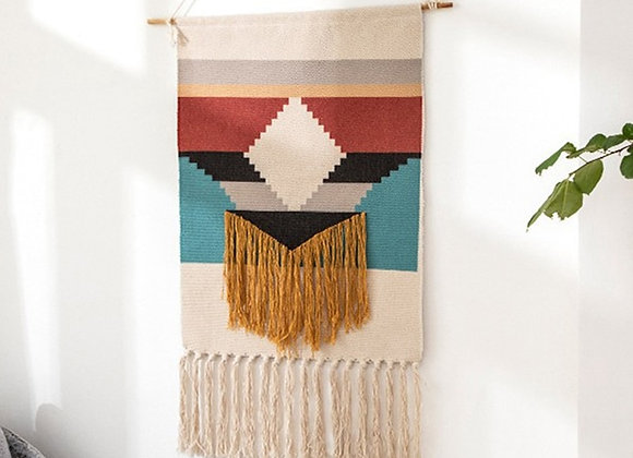 Moroccan Hand Woven Tapestry