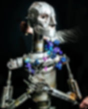 THE WOODSMAN - Tin Man Puppet