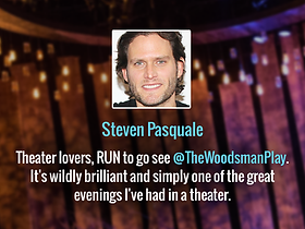 Steven Pasquale Reviews The Woodsman