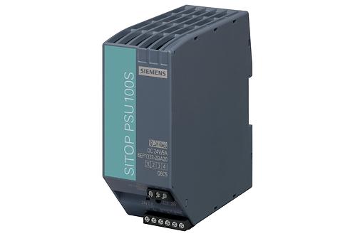 SITOP PSU100S 24 V / 5 A Stabilize güç kaynağı girişi: 120/230 V AC, çıkış: 24 V
