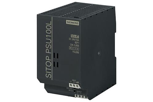 SITOP PSU100L 24 V / 10 A Stabilize güç kaynağı girişi: 120/230 V AC, çıkış: DC
