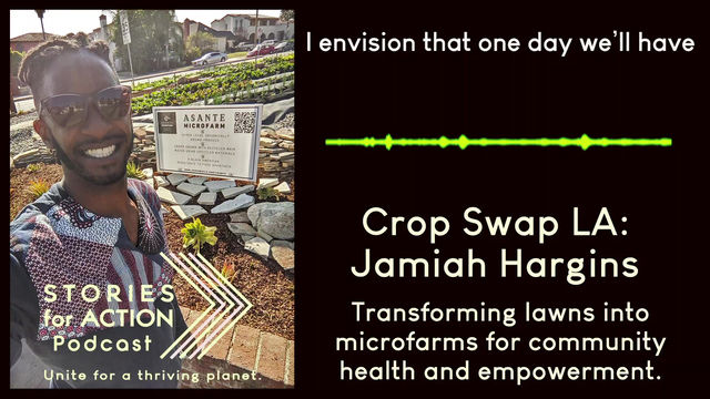 Listen: Jamiah on the desperate food situation with Stories for Action Podcast
