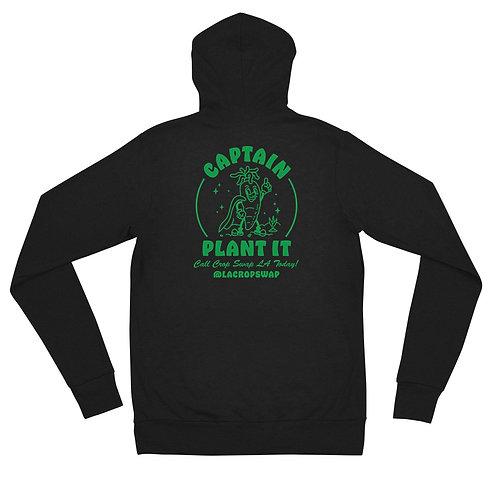 Lightweight Hoodie - Captain Plant It - Crop Swap LA