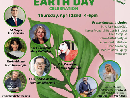 Join us for an EARTH DAY Celebration.