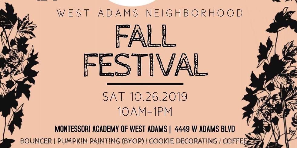 West Adams Fall Festival at Montessori Academy West Adams