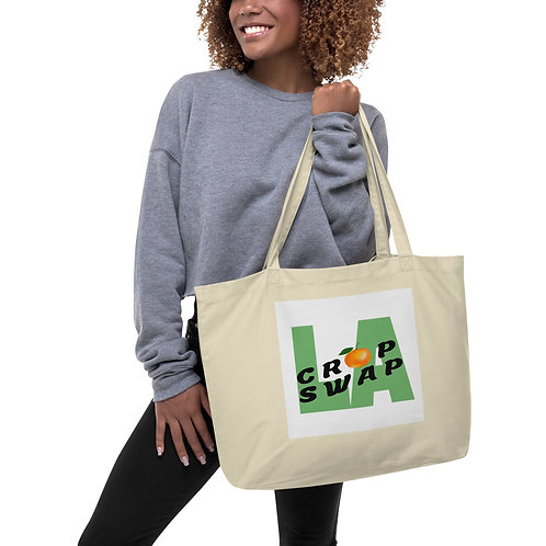 Tote Bag, Large, Organic - Crop Swap LA