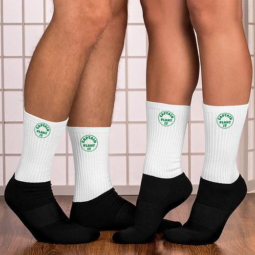 Socks - Captain Plant It - Crop Swap LA
