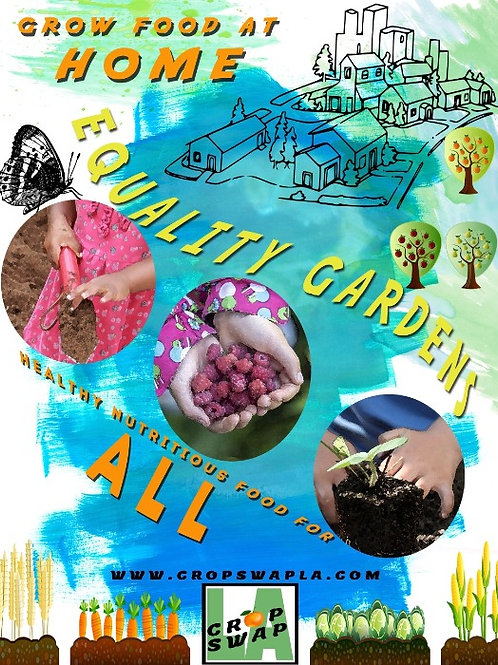 """Equality Gardens Magnet """"Children's Hands"""" (PICK-UP Only)"""