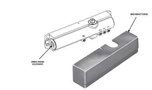 1431 Aluminium Closer x EN (CB - Body Only)
