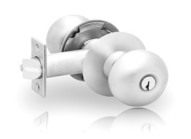 28-KD-8G04 Lockset x O/B x LA Keyway x 26D