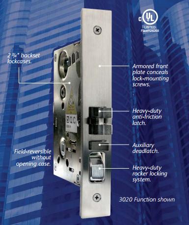 Edge Hardware Mortise Lock x Less Cylinder x 32D