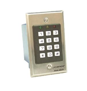 Securitron Digital Indoor Keypad System DK-16 x 32D