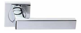 Lawrence Hardware 910R8S Passage Leverset in Flat Black