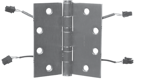 "McKinney T4A3786 QC8 5"" x 4.5"" Heavy Weight Electric Hinge x 26D"