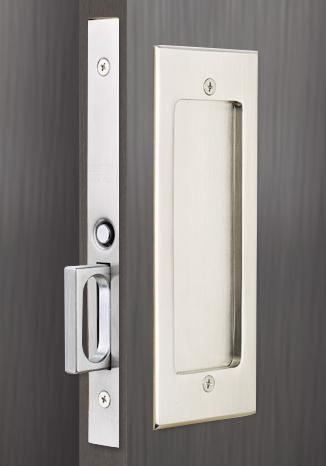 Emtek Pocket Door Mortise Lock 2106 x C10B