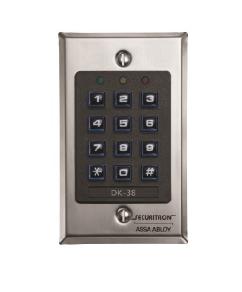 Securitron Digital Indoor Keypad Single Gang DK-38 x 32D