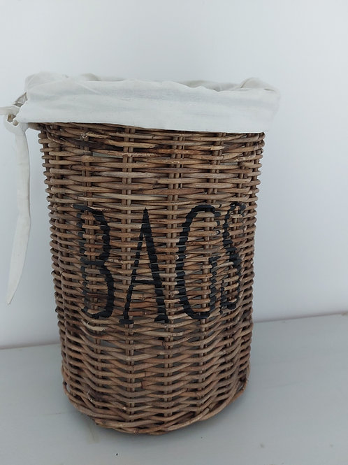 Rotan tassenmand 'BAGS'
