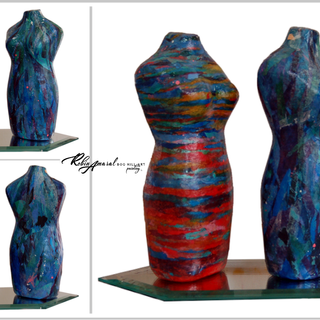 18RA Mixed Media Female Forms