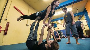 local de parkour / parcours / ninja / trampoline sherbrooke
