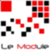 Logo parkour module affiche