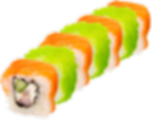 Sushi Roll Oversized Custom Props