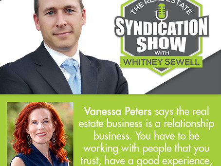 Podcast - The Real Estate Syndication Show with Whitney Sewell