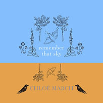 Cover Art 'Remember That Sky' single by Chloë March