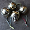 Thumbnail: Antique Gold Baubles