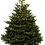 Thumbnail: 9ft Nordmann Fir Christmas Tree