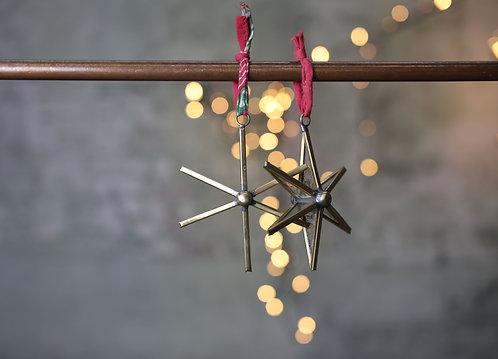 Pakora Antique Brass Stars
