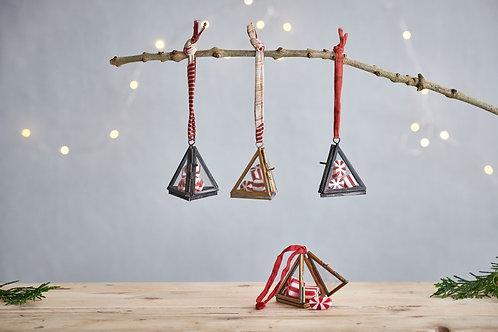 Tiny Kiko Triangular Decorations