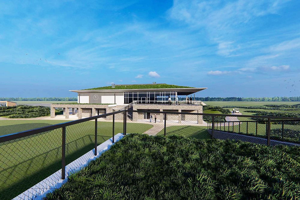 Dundonald club house CGI by NBDA Architects
