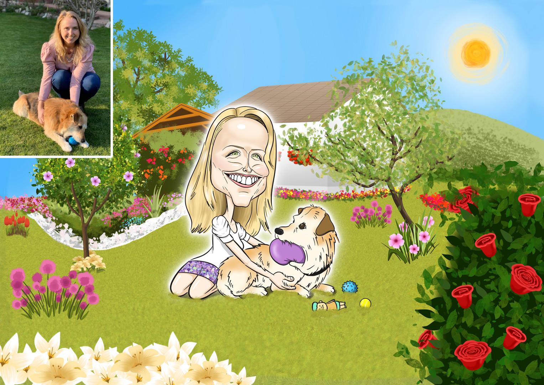 Viki 30 éves lett. Legnagyobb szerelmei jelenleg a kutyusa és a kertje, melyeknek maximális törődést és figyelmet szentel az életében.  Szerintem mind ismerjünk azt a személyt, akinek több a virág a kertjében, mint a fűszál   De úgy láttam, a kiskutyája jól lett nevelve Vikinek, mert a kertnek magazinban lenne a helye, olyan szépen ápolt