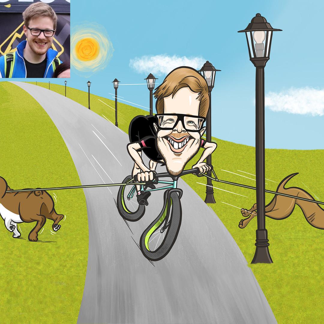 Peti a biciklizés, a természet és kutyái szerelmese. Szíve szerint egy farmon élne, ahol állatok gondozásával foglalkozna, távol a város zajától.