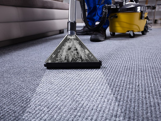 Professional Steam Cleaning a Carpet by Supercare Cleaning and Maintenance in North Carolina