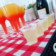 I loved slingin drinks for the Messina f