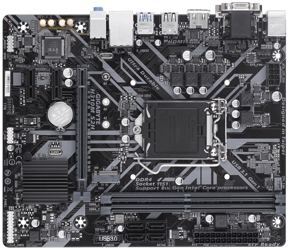 Gigabyte H310M S2H (rev  1 1) | EPC