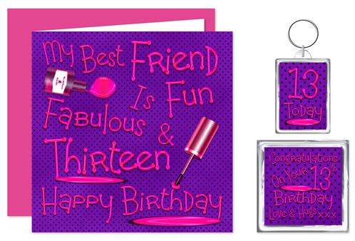 Rosie Online 13th Best Friend Happy Birthday Gift Set