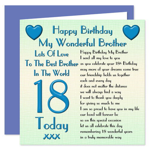 Rosie Online Brother Birthday Cards Gift Sets