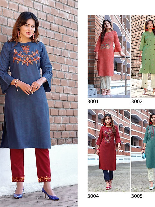 Kaavi Fab Stylish Cotton Dress Material With Pent