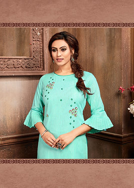 Kaavi Fab Special Designer Kurti With Hand Work & Embroidery
