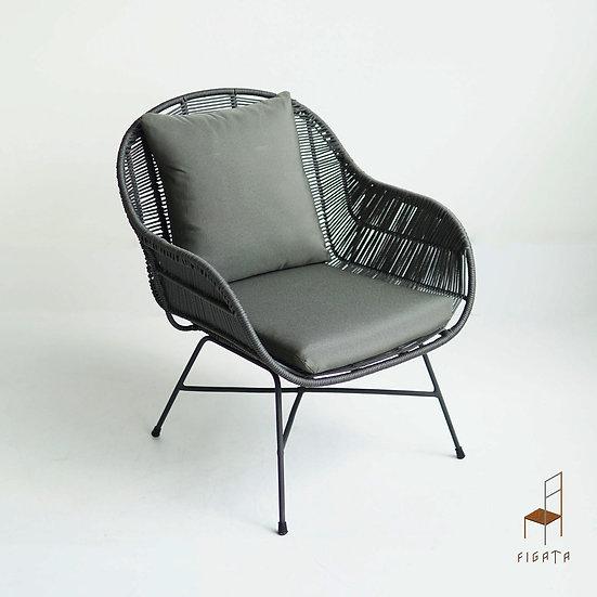 Bengkok Rope Occasional Chair - Outdoor Furniture