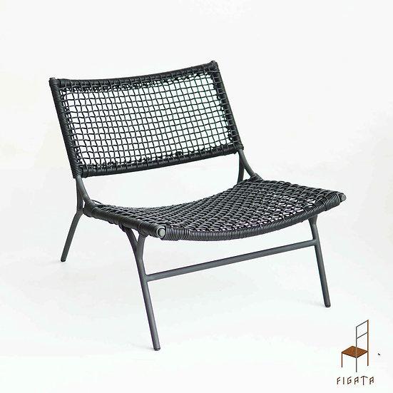 Sanati 1x1 Occasional Chair - Outdoor metal furniture