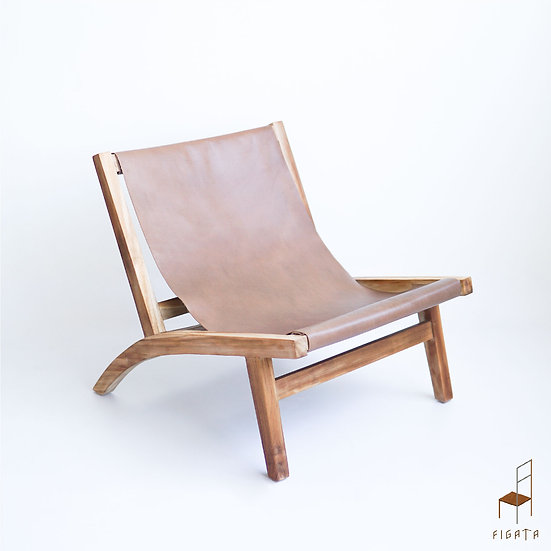 Ashanti Occasional Armchair - Indoor Solid Wood Furniture