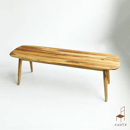 Celini Solid Wood Bench - Outdoor Furniture
