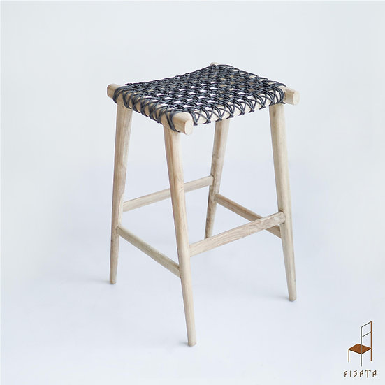 Kontika Or Barstool - Outdoor Solid Teak Wood Furniture