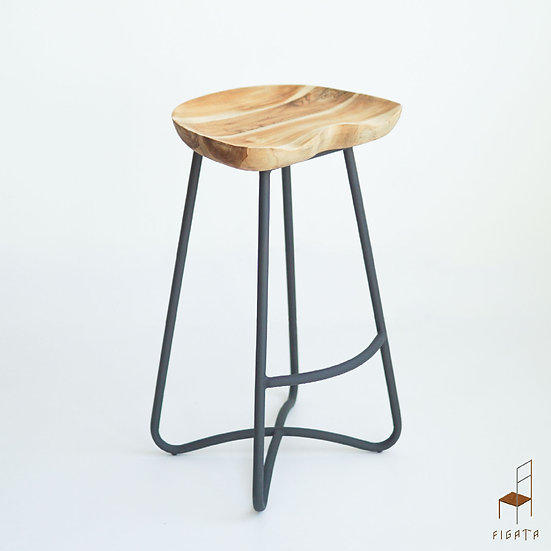 Stupa Counter Stool - Outdoor Solid Wood Furniture